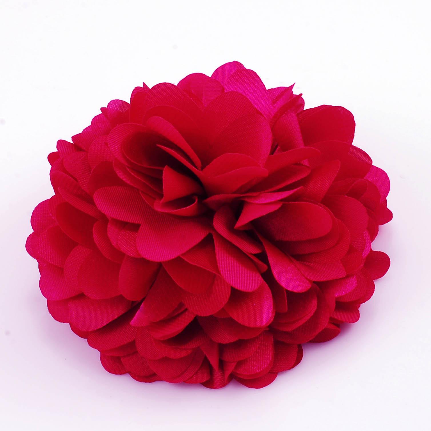 Artificial flower brooch pin mightylinksfo