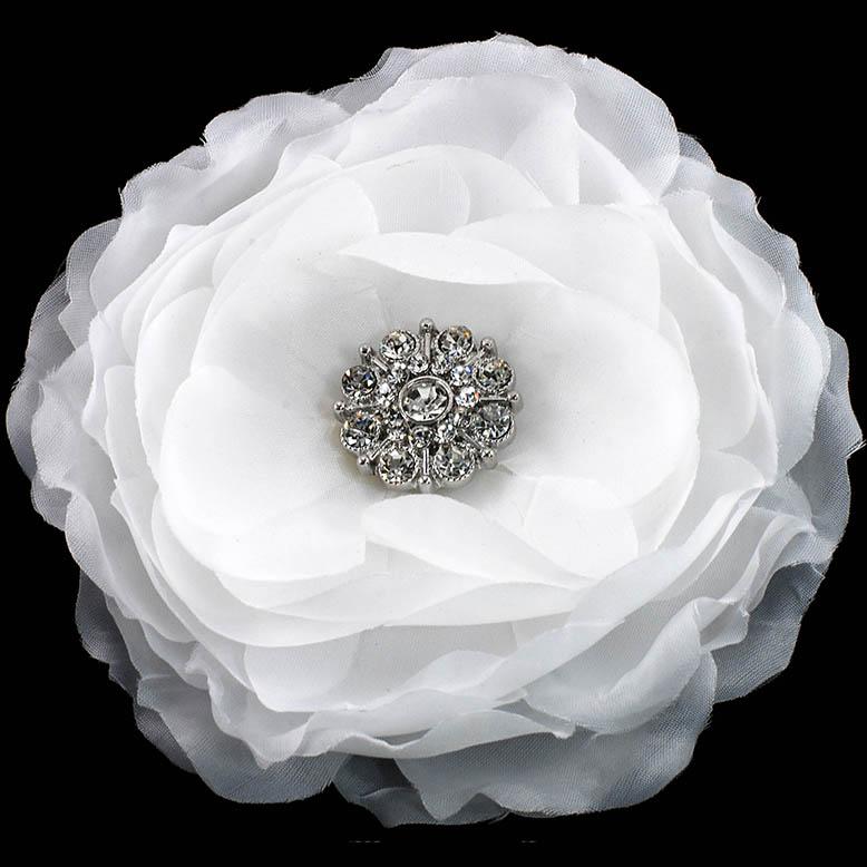 Bridal fabric flower pin fabric flower pin mightylinksfo