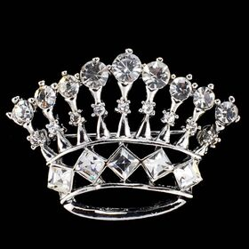 Crown Brooches