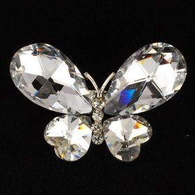Chunky Crystal brooch