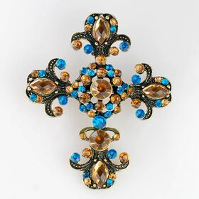 Cross Brooches
