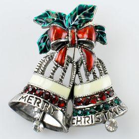 Santa Boot brooches