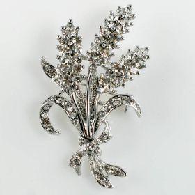 Leaf brooch