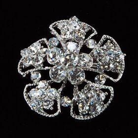Small Floral Wedding Brooch