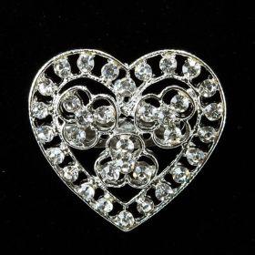 small wedding brooch