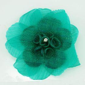 Artificial flower pin brooch