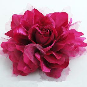 large fabric flower