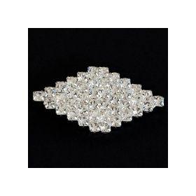 small diamond shape brooch