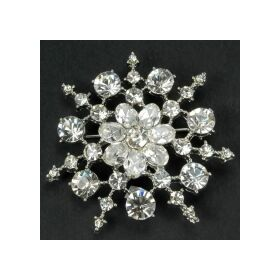 Snow Flake brooches