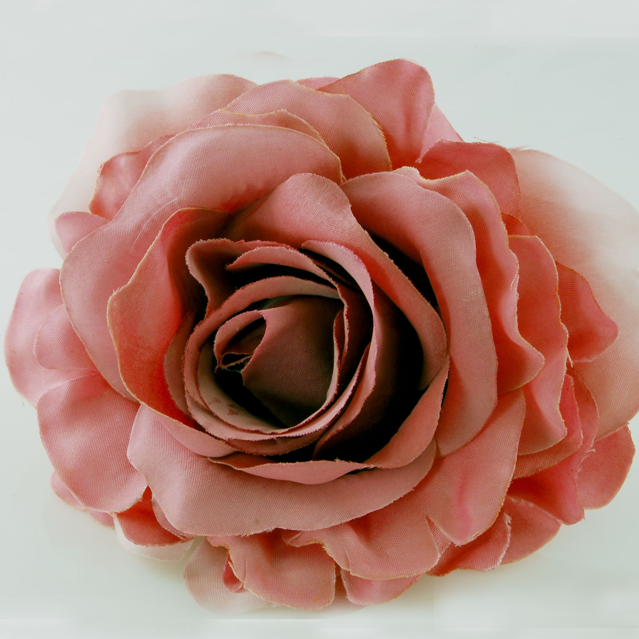 Rose Flower: Fabric Rose Flower Pin