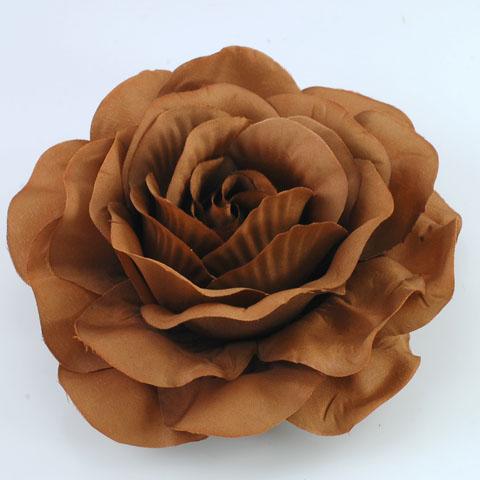Rose and Brown Pin
