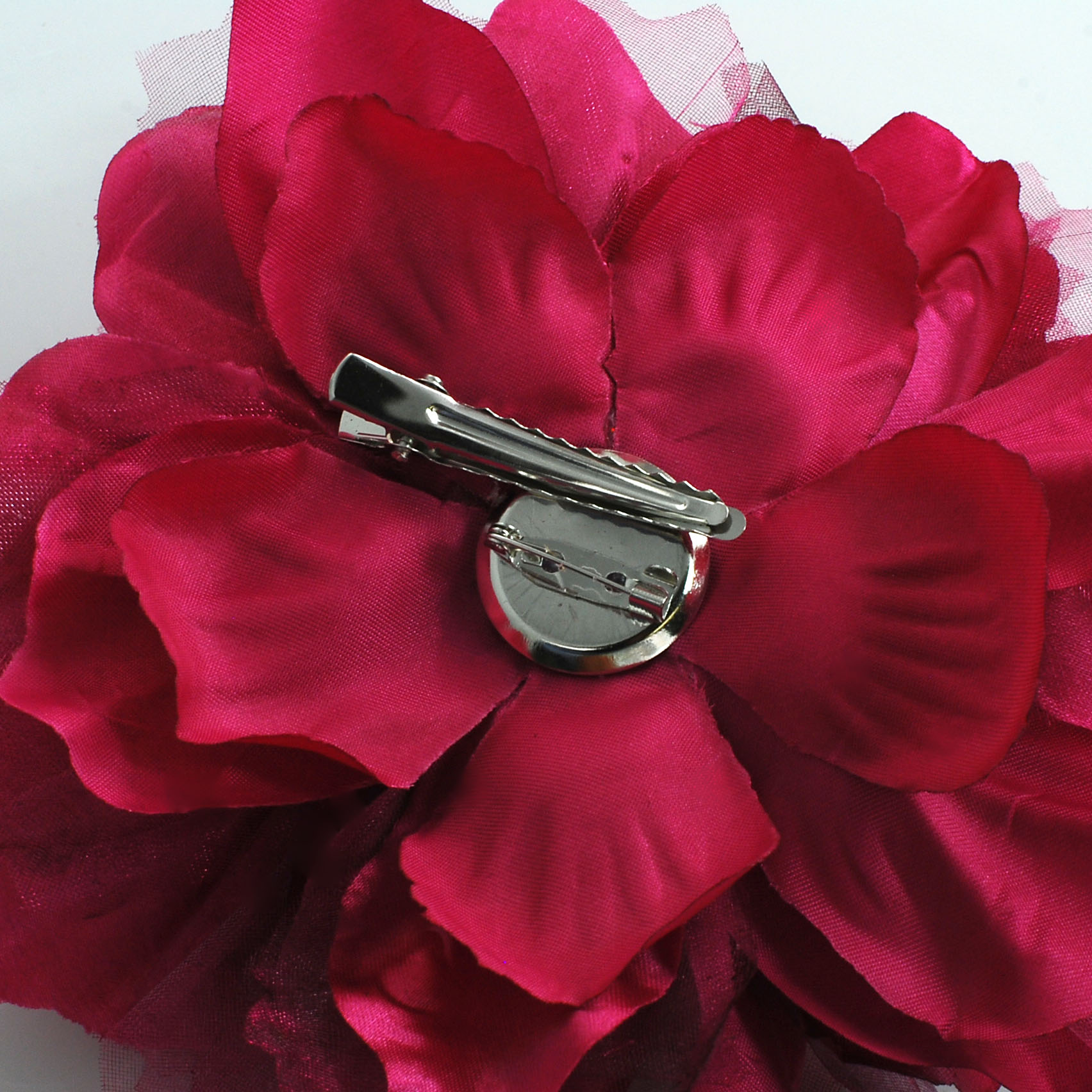 Large Fabric Flower Pins Flowers Healthy