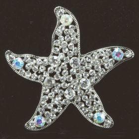 Starfish Brooches