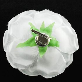 Fabric Flower pin brooch