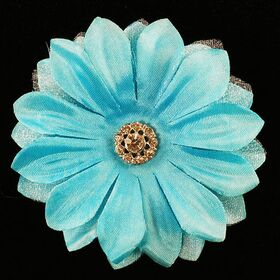 Artificial Flower Brooch