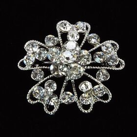 small floral brooch