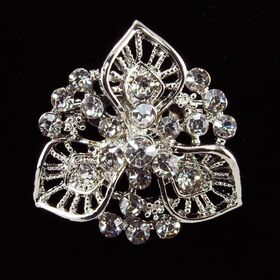 small wedding brooch