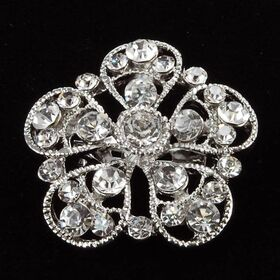 Floral Wedding Brooch