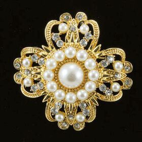 Vintage Pearl Brooches