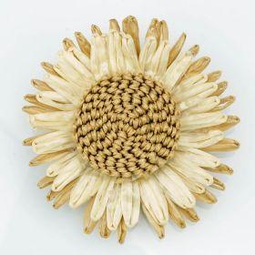 Straw Flower pin