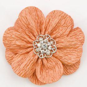 Wrinkle Flower Pin