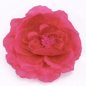 Fabric Flower brooch