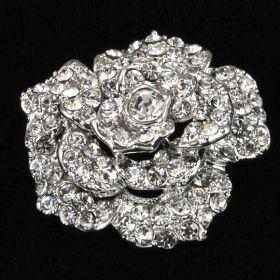 Rose Wedding Brooch
