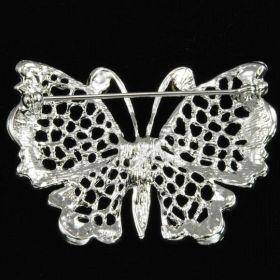 Butterfly brooch back