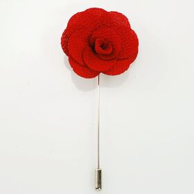 Flower Lapel Pin