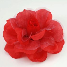 Organza Flower Pin