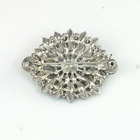 Diamond brooch-Back