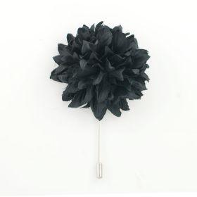 black color Lapel Pin
