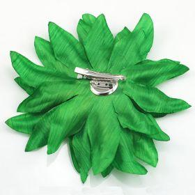 Green Flower Pin