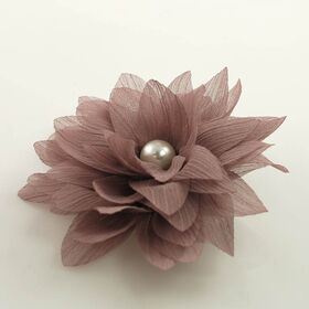 artificial flower pin brooch