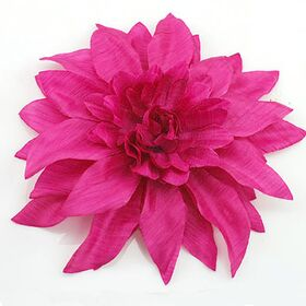 Fuchsia Soft Flower Pin