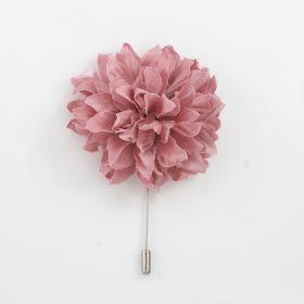 Rose Pink color lapel Pin