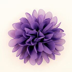Fuchsia Fabric Flower