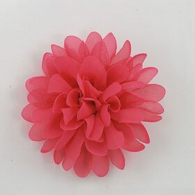 Fuchsia Fabric Flower