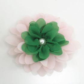 Two Tone Chiffon Flower