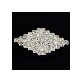 small diamond shape brooch