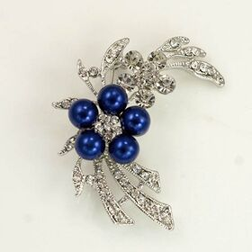 Royal Blue Brooch